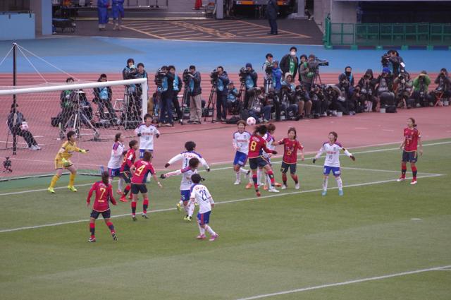 澤穂希引退試合 第37回皇后杯決勝にて#1