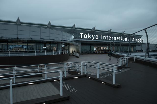 羽田空港 国際線旅客ターミナルにて #5